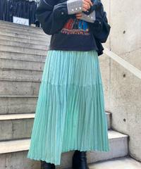 gather  long  skirt   H044-18