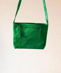 イタリアンレザー サコッシュ Green Itarian leather pochette