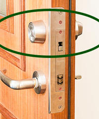 HORI LOCKS シングルロック  シリンダー交換 鍵3本付 ※工賃別