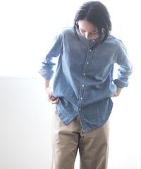 LOLO Higashikawa | Damage Denim Blouse