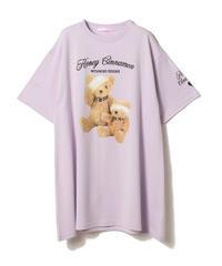 202CS0549 WOUNDED TEDDIES Tシャツ