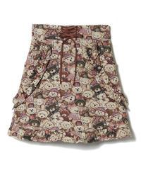 194SK1041 ゴブランTEDDYスカート