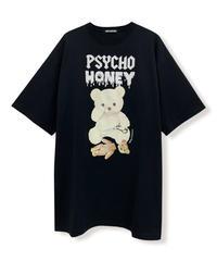 202CS0643【再入荷】 <unisex>PSYCHOシナモンTシャツ
