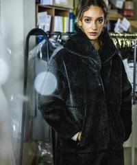 【Long Boa Coat】#ロングボアコート