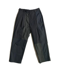 TYPE 06 Elastic wide tapered pant