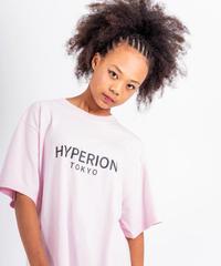 ベーシックロゴ Tシャツ ライトピンク