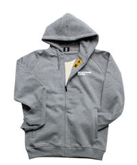 Montana Typo + Logo Zip  Hoodies