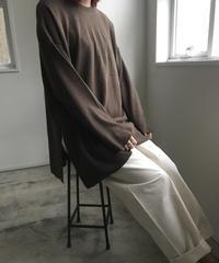 Oversize knit Cutsew