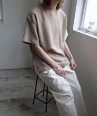 Side slits T-shirt