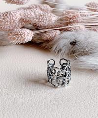 silver ring U-016