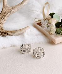 silver ring V-018