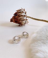 silver ring U-014