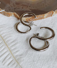 silver pierce L-021