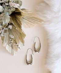 silver pierce V-026