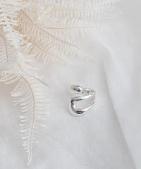 silver ring J102