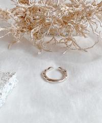 silver ring B107