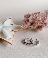 silver ring U-002