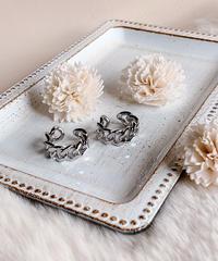 silver chain ring U-012