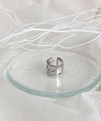 silver ring F107