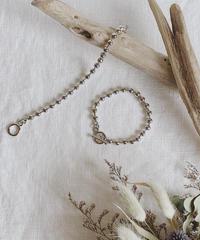 metal ball chain bracelet N-001