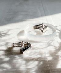 silver ring B101