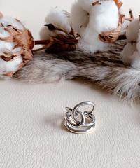 silver ring U-005
