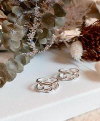 silver ring U-015