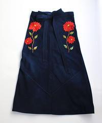 コルテスカートL/IND刺繍/ダリア1231-1232