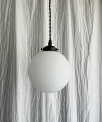 艶消し乳白丸のペンダント照明