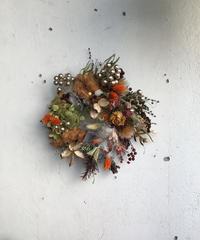 秋冬カラフルリース