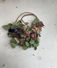 ユーカリポポラスの枝みせリース