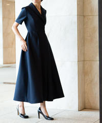 "Wool Silk Dress ""KATIE"""