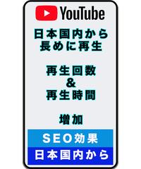 ★日本国内限定PR★Youtube広告で再生回数3000回増加