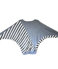 dolman sleeve & stripe_sw