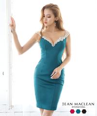 【JEAN MACLEAN】シンプルワンカラー/OP【95631】