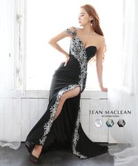 【JEAN MACLEAN】レースバイカラー/ワンショル/LongDress【11992】