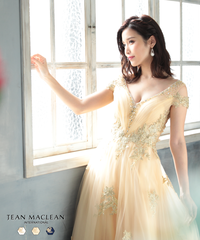 【JEAN MACLEAN】オープンショルダー/姫LongDress【91698】