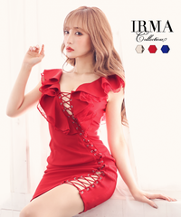 【IRMA】レースアップ/フリル/OP【15659】