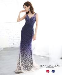 【JEAN MACLEAN】グラデーションレース/LongDress【91766】