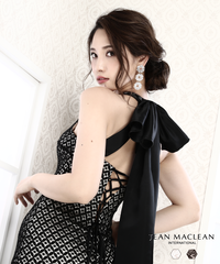 【JEAN MACLEAN】バックリボン付き/Longdress【91572】