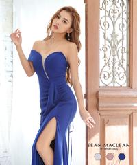 【JEAN MACLEAN】シンプル/ワンカラー/LongDress【15669】