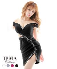 【IRMA】オフショル/ワンカラー/カットアウト/OP【11948】