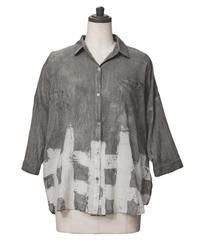 格子 -koushi- ドロップシャツ