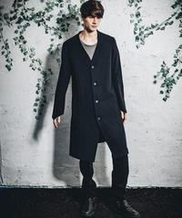 うねりコート黒
