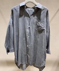 墨染雨晴コットンドロップシャツ