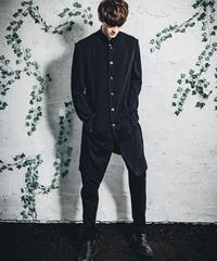 天竺縫代ジャケット黒