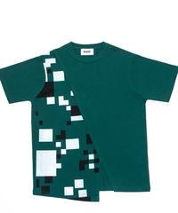 Switching Tee shirt GRN