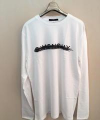 BLACK SCORE  長袖Tシャツ<GIVENCHY CROSS>/ユニセックス(XX202L465C)