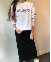 BLACK SCORE  長袖スウェット<BATMAN>/ユニセックス(XX192L024C)