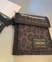 White Mountaineering × PORTER / LEOPARD PRINT WALLET (XX201L062D)